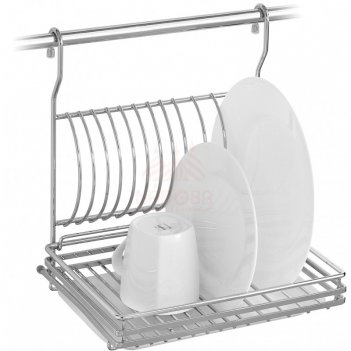 Сушилка для посуды на рейлинг bozena 701115