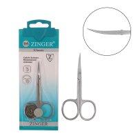 Ножницы маникюрные ручной заточ.b-131-d(fd)-sh zinger