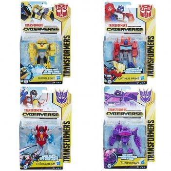 Transformers. кибервселенная трансформер 14 см