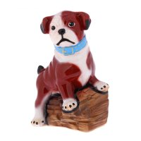 Статуэтка собака оскар, коричневая