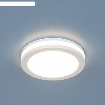 Светильник elektrostandard dskr80 5w 3300k led, ip44, алюминий