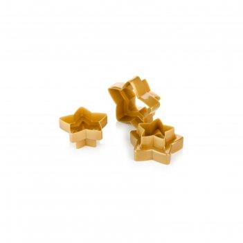Формочки tescoma delicia звёзды, двухсторонние, 6 размеров