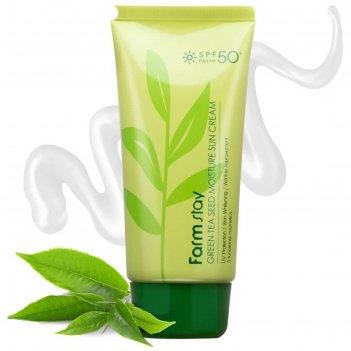 Солнцезащитный крем для тела farmstay spf 50/pa+++, увлажняющий, 70 г