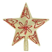 Наконечник-звезда с посыпкой цветок