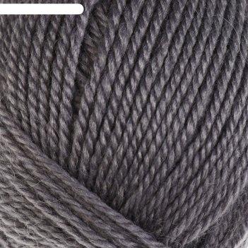 Пряжа бамбино 35% шерсть меринос, 65% акрил 150м/50гр (169, серый)