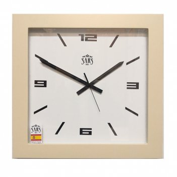 Большие настенные часы sars 0195a ivory