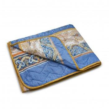 Одеяло стеганое облегченое, размер 172х205 см,цвет микс, файбер