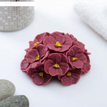 Мыло фигурное букет фиалок фиолетовый 95 г