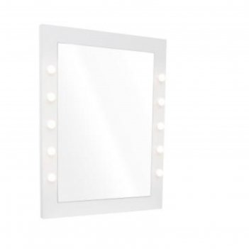 Зеркало для визажиста амели, цвет белый