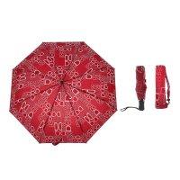 Зонт автоматический «литера», 3 сложения, 8 спиц, r = 50 см, цвет микс