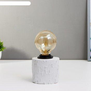 Лампа настольная 16733/1gr e27 60вт серый 18х18х25 см