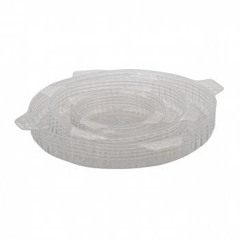 Набор силиконовых крышек, 4 шт., диам. 9.5 см, 11 см, 16 см,