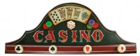 Коллаж казино (4 крючка) 80*33см