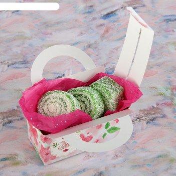 Коробка для сладостей любовь в моем сердце, 12 х 5.5 х 5.5 см