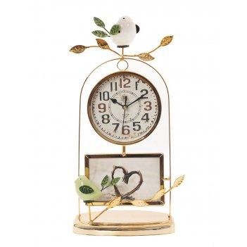 Часы настольные декоративные с фоторамкой (1xaa не прилаг.), l23 w12 h41 с
