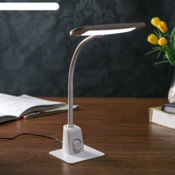Лампа настольная с диммером 71871/1 led 6вт белый 19,5х10х44 см