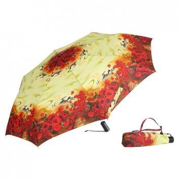 Зонт 23, полный автомат (лето красное)