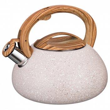 Чайник agness со свистком 3 л нжс (кор=6шт.)