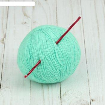 Крючок для вязания, d = 4 мм, 15 см, цвет микс
