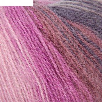 Пряжа angora real 40 batik 60% акрил, 40% шерсть 480м/100гр (4760)