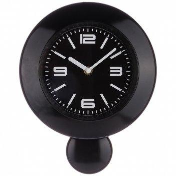 Часы настенные кварцевые lovely home с маятником 29*23*5,2 см цвет:черный
