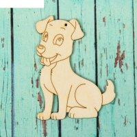 Подвеска - собака весёлый щенок