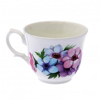 Чашка чайная 270 мл арина. весенний букет, d=9,7 см