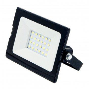 Светодиодный прожектор glanzen slim, 20 вт, 6000-6500 к, 1600лм, smd, ip65
