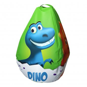 Мешок-рюкзак-подушка, спинка для тюбингов st4, small rider bags динозаврик