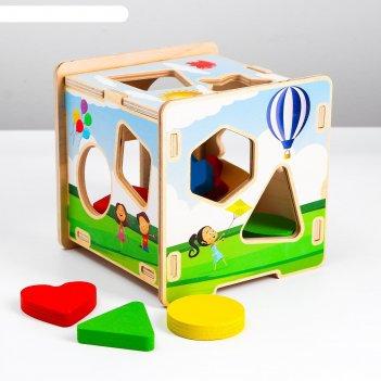 Сортер «куб. геометрия», 152203