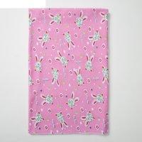 Пеленка, размер 90 х120, цвет розовый принт микс 1175