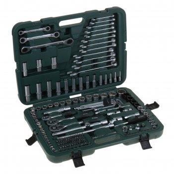 Набор инструмента tundra premium универсальный в кейсе 160 предметов