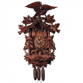 Часы с кукушкой rombach & haas 5755