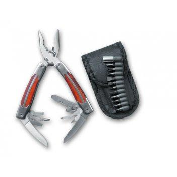 Нож - многофункциональный с нейлоновым чехлом.stinger