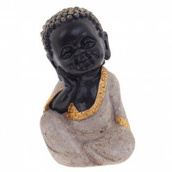 Фигурка декоративная будда, l11 w10 h19 см