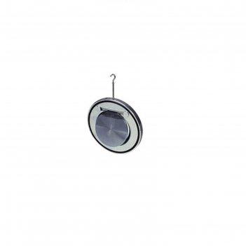 Клапан обратный tecofi cb3448n, стальной, межфланцевый, створчатый, dn100