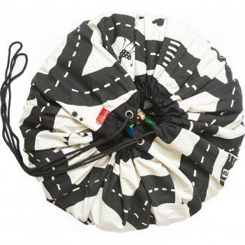 Игровой коврик - мешок для хранения игрушек 2 в 1 play&go, коллекция print