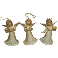 Колокольчик ангел,l7,4 w4,2 h10,3см,3в