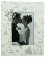 """Фоторамка """"свадебные колокольчики"""" для фото 13*18см"""