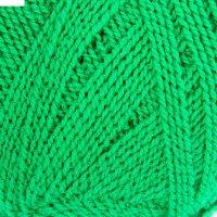 Пряжа firelight (костер) ярк.зел.-зел. 394м/100гр акрил 93%, метанит 7%