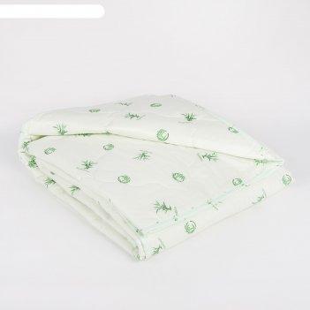 Одеяло облегчённое адамас бамбук, размер 140х205 ± 5 см, 200гр/м2, чехол т