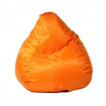 Кресло-мешок малыш, d70/h80, цвет 04 оранжевый