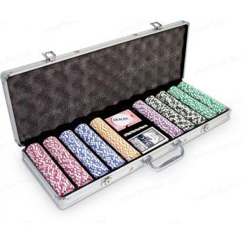 (500) набор для покера на 500 фишек monte carlo