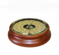 Барометр термометр бтк-сн 24,шлифованное золото  размер 17,6х5см