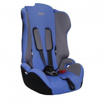 Автокресло-бустер atlantic basic, группа 1-2-3, цвет синий