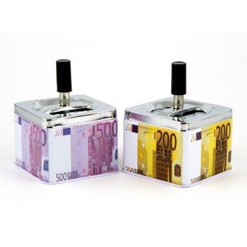 "Пепельница ""евро"" 9*9см (уп.2/125шт.) a,b"