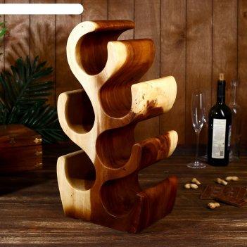 Подставка под бутылки сайжи 51 см, дерево суар