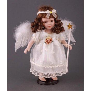 Кукла ангелочек - вера высота=32 см
