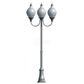 Фонарь уличный «лотос - 3» со светильниками 3,871 м.