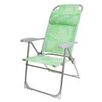 Кресло-шезлонг складное 2 сетка пальма к2